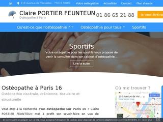 Ostéopathie pour nourrisson à Paris 16