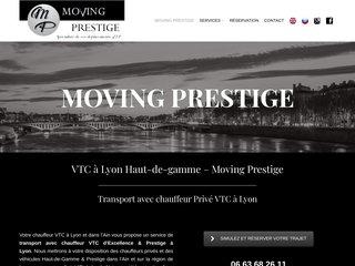 Moving Prestige - compagnie haut-de-gamme VTC Lyon