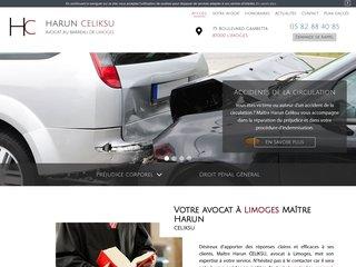 Avocat en droit pénal général à Limoges