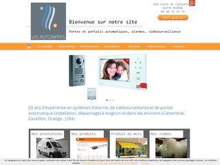 Alarmes : Les Automates à VEDENE (84)