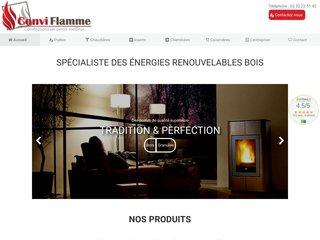 Conviflamme - vente et installation de poêles dans l'Eure