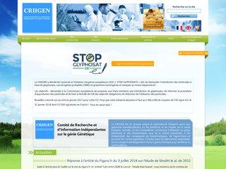 CRIIGEN - recherche indépendante dans le domaine des Organismes Génétiquement Modifiés