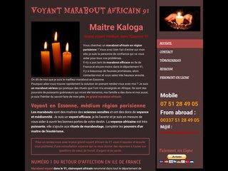 Maitre kaloga, grand voyant africain