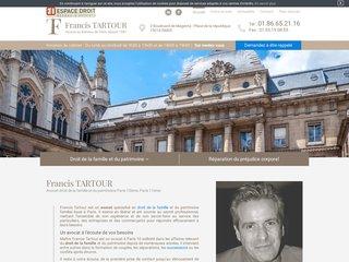 Avocat droit famille et du patrimoine à Paris 10ème, Paris 11ème