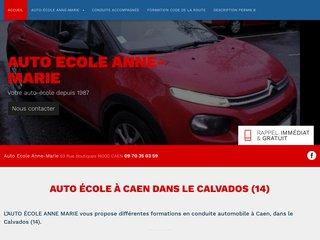 Auto-ecole, Caen, Carpiquet, Saint-Germain-la-Blanche-Herbe - Auto Ecole Anne-Marie