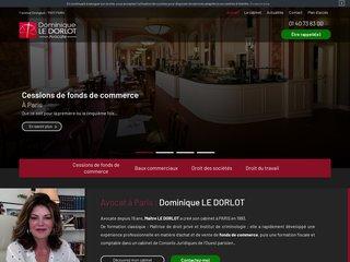 Avocat Paris 17 - Cabinet LE DORLOT