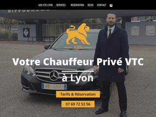 Votre Chauffeur privé VTC Business à Lyon - AJIS