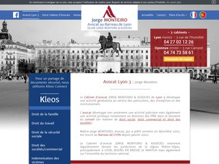 Votre avocat à Lyon 3 – Maître Monteiro