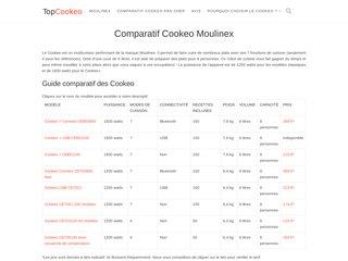 Comparer sur TopCookeo les multicuiseurs Moulinex