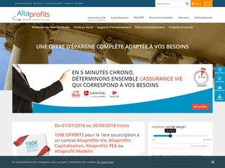 Courtier en Assurance vie & épargne en ligne