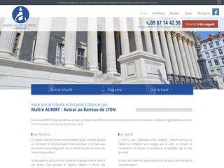 Cabinet avocat droit pénal Lyon, Oullins - Maître Aubert