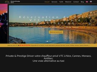 VTC à Cannes - VTC à Monaco - VTC à Nice