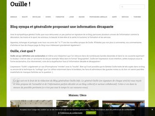 Blog ouille
