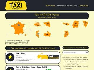 Annuaire des Taxis à Paris