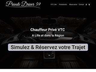 Private Driver 59 à Lille