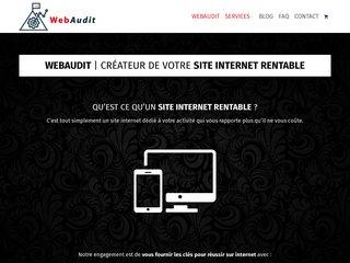WebAudit - Créateur de site Internet pour Chauffeur privé VTC
