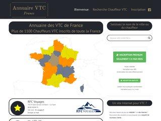 Annuaire des VTC - France