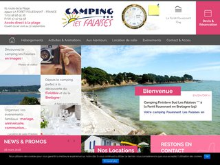 Camping à la Forêt Fouesnant