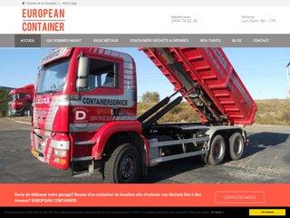 Location de container à Liège: European-Container