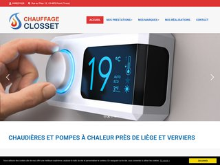 Chaudière à Verviers: Chauffage Closset