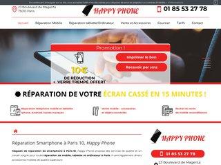 Réparation de votre Iphone à Paris 10