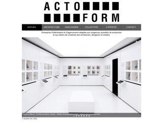 Menuiserie et décoration intérieure: Actoform