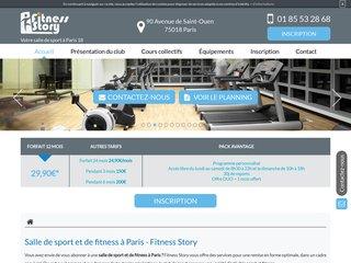 Cours collectifs de sport à Paris 18
