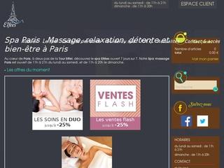 Elfées SPA Paris 7, massages et relaxation