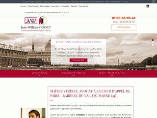 Avocat droit pénal, criminel Créteil, Val-de-Marne