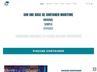 Piscine Container originale et prête à l'emploi