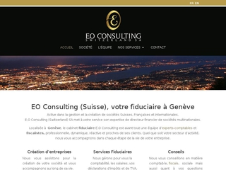 Expert-comptable Suisse - E.O Consulting