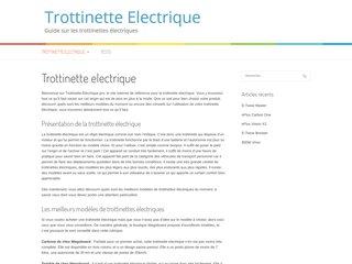 Trottinette-Electrique