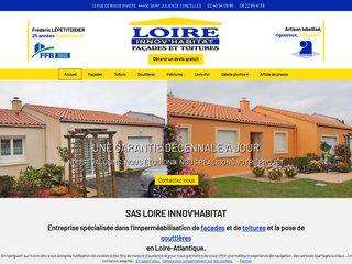 Façade : Loire Innov'Habitat à Saint Julien de Concelles (44)