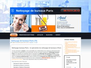 ANAD service de nettoyage de bureaux Paris