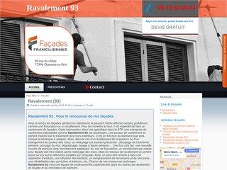 Travaux de ravalement de façade dans la Seine-Saint-Denis
