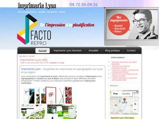Facto Repro imprimerie à Lyon