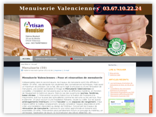 Menuiserie Valenciennes