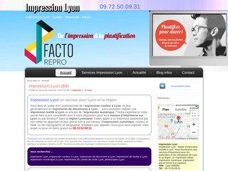 Service d'imprimerie à Lyon