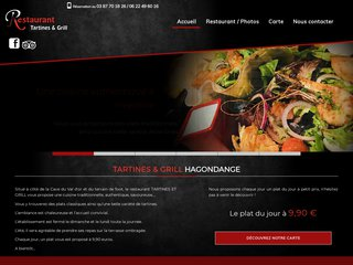 restaurant Amneville - restaurant Hagondange : Tartines et Grill