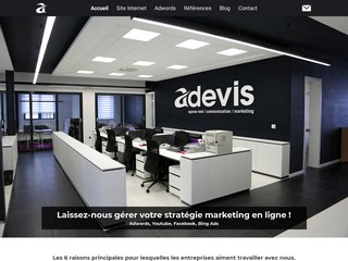 ADEVIS Agence Web