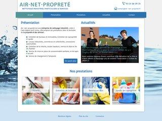 AIR NET PROPRETE - entreprise de nettoyage industriel à Caen
