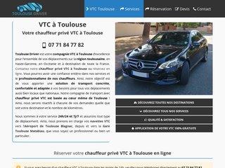 Chauffeur Privé VTC Toulouse - Izar VTC