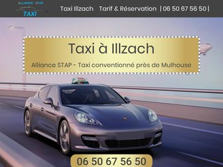 Taxi à Illzach avec Stap Alliance Taxi