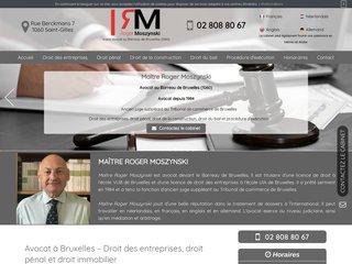 Votre avocat en droit pénal à Bruxelles