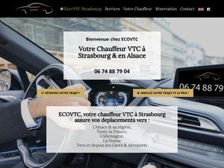 Votre VTC à l'Aéroport de Strasbourg avec Eco VTC