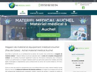 Magasin d'équipement médical à Auchel