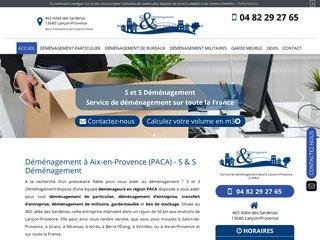 Déménagement à Aix-en-Provence : S & S