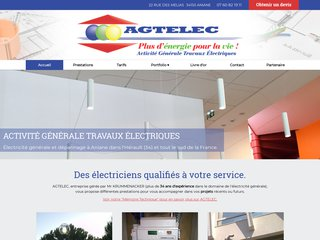 AGTELEC Entreprise d'Electricité Générale dans l'Hérault