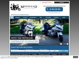 Taxi moto à Paris et en Ile-de-France