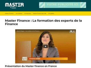 Master Finance Evry